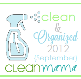 Clean + Organized 2012 – FREE September Cleaning Schedule