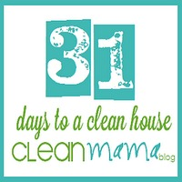 Day 31 – 31 Days to a Clean House