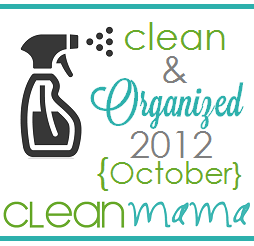 Clean + Organized 2012 – Free October Cleaning Schedule