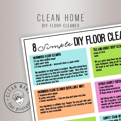 CLEAN HOME.DIY floor cleaner