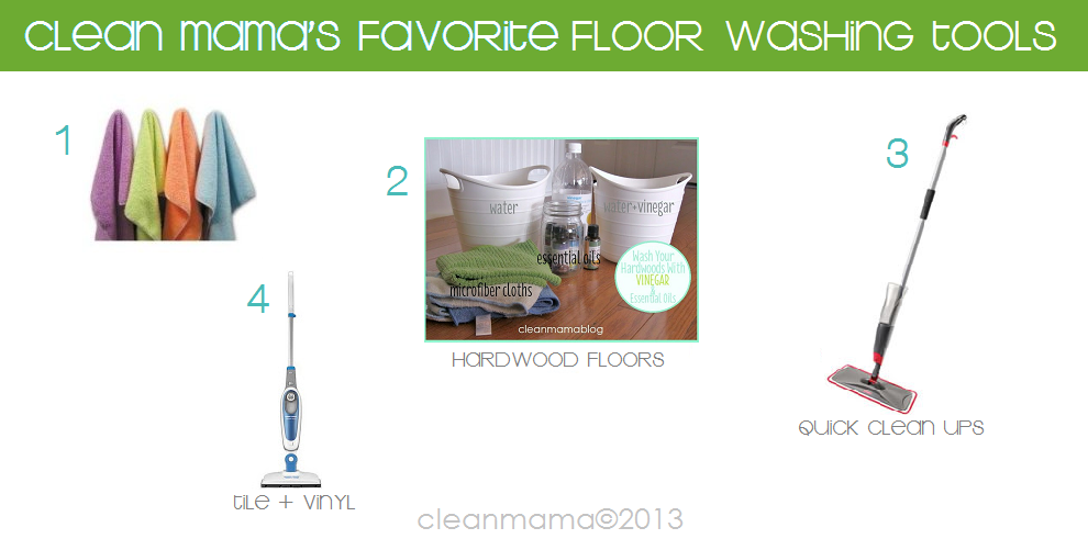 Daily Cleaning Tasks Thursday Is Floor Washing Day