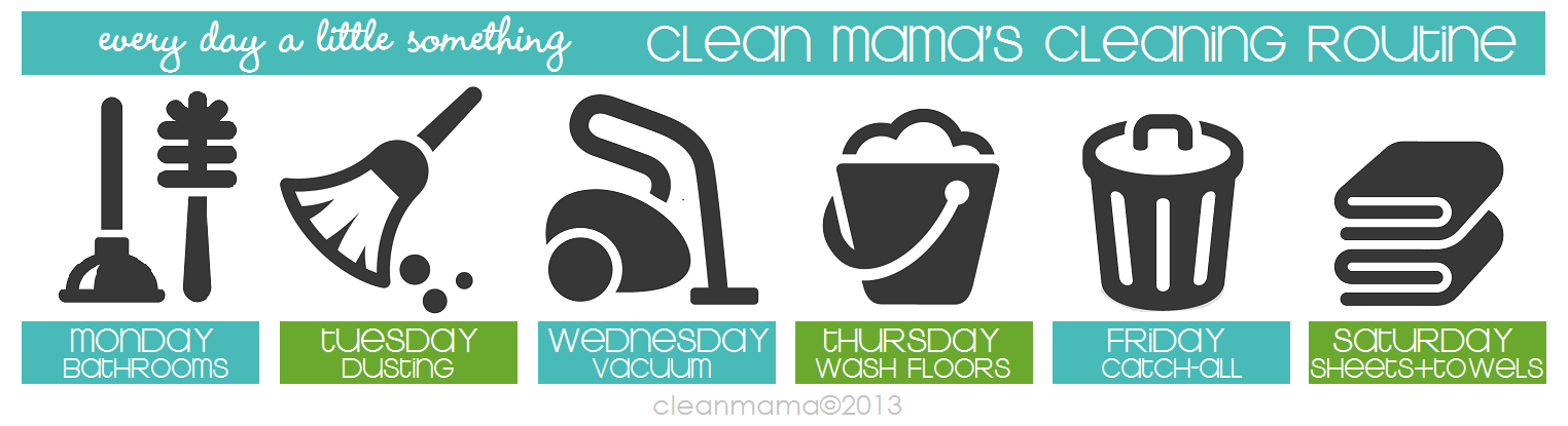Daily Cleaning Tasks Wednesday Is Vacuum Day Clean Mama