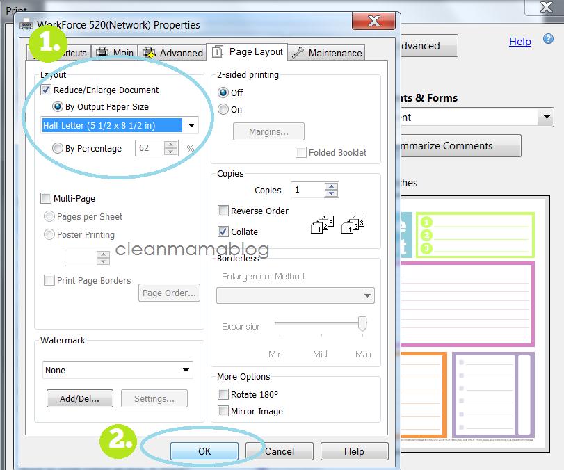 Excel Custom Paper Size