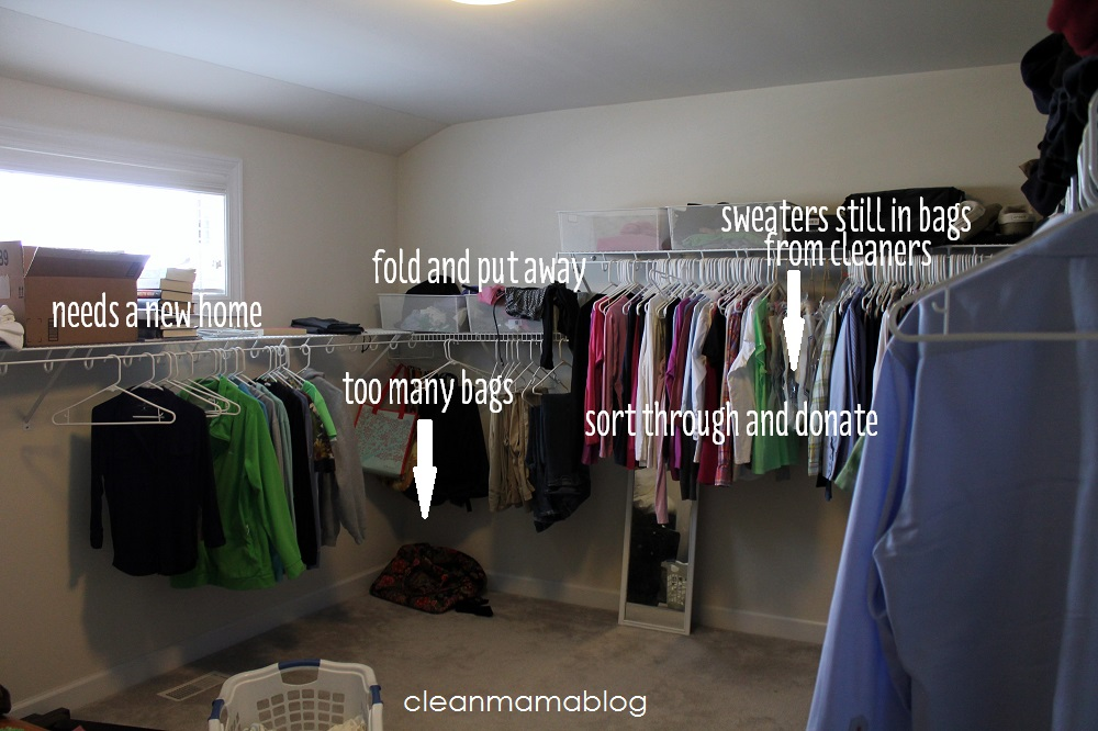 Quickly Go Through Your Closet(s) And Move Unwanted Items Into 4 Categories  U2013 Toss, Sell, Give Away, Relocate.