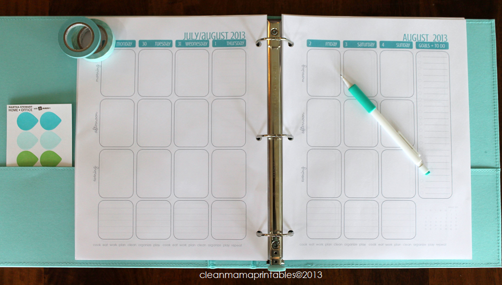 the planner has 157 pages of weekly calendar pages – one week on two ...