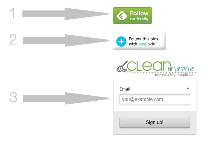 Follow Clean Mama