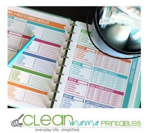 clean mama printables ad