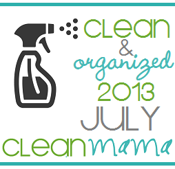 cleanandorganizedjulybutton2013