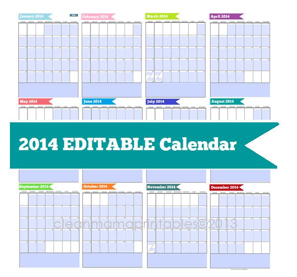 printable and editable 2016 calendar by month calendar template 2016