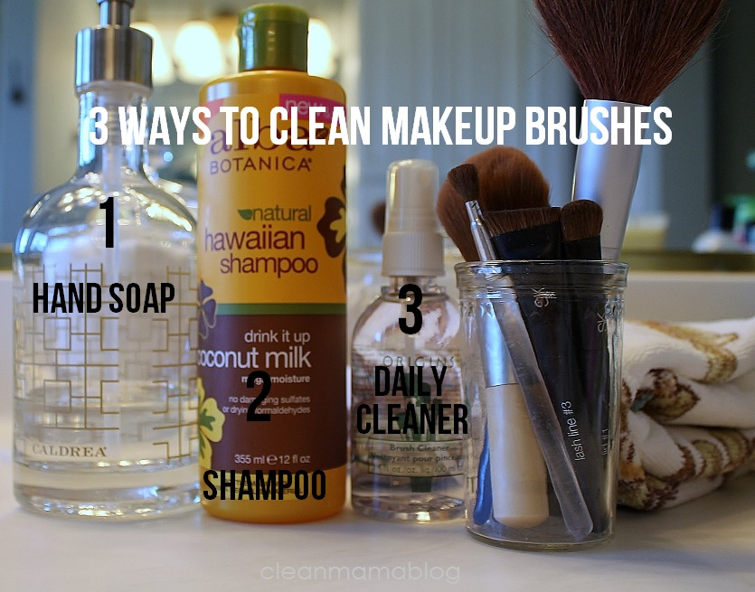 The Best Way Tto Wash Makeup Brushes Archives Clean Mama