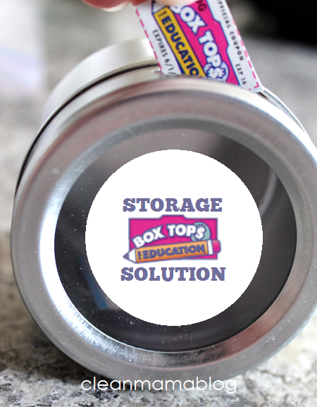 Box Tops Storage Solution - Clean Mama
