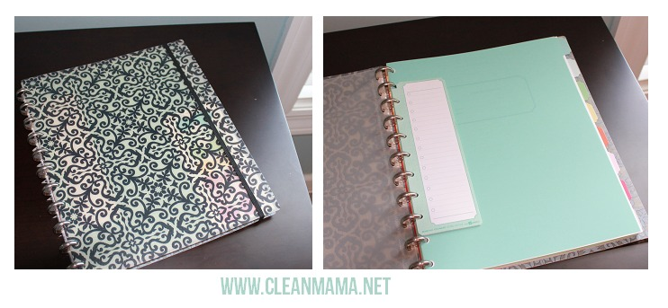 Discbound notebook - Clean Mama
