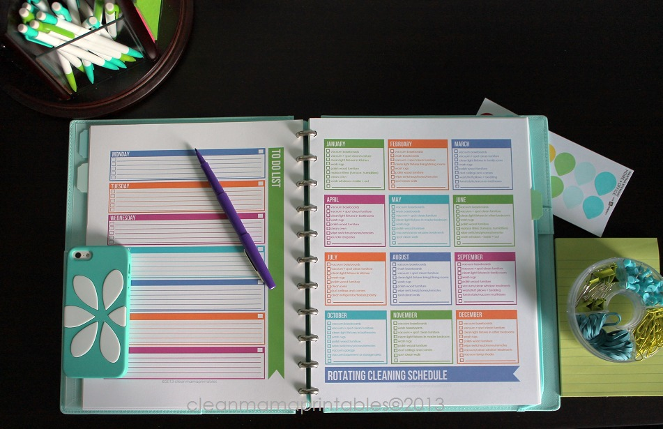 Weekly To Do List + Rotating Cleaning Schedule - Simplified Life Kit - Clean Mama