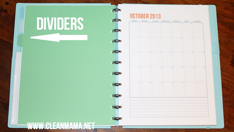 Add Dividers - Clean Mama