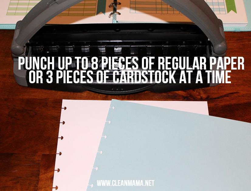 Cardstock and Regular Paper - Clean Mama