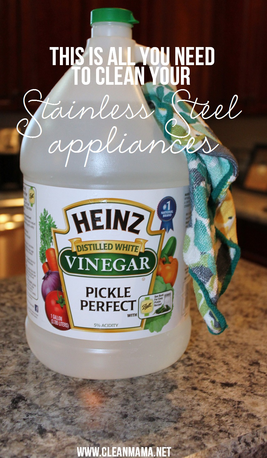 Quick Cleaning Tip: Stainless Steel Appliances – Clean Mama