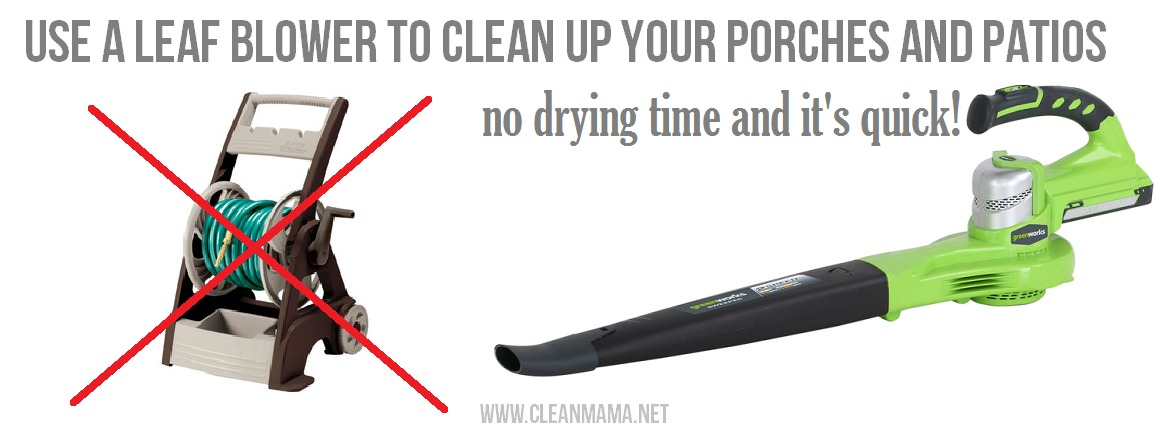 Fall Cleaning Quick Tip