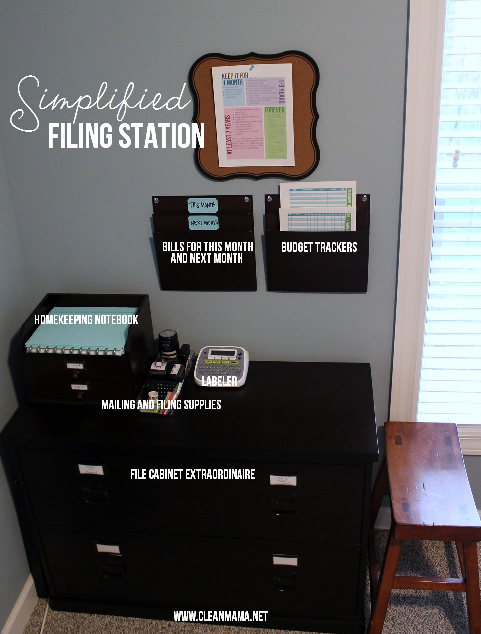 office archives clean mama simplified filing station via clean mama