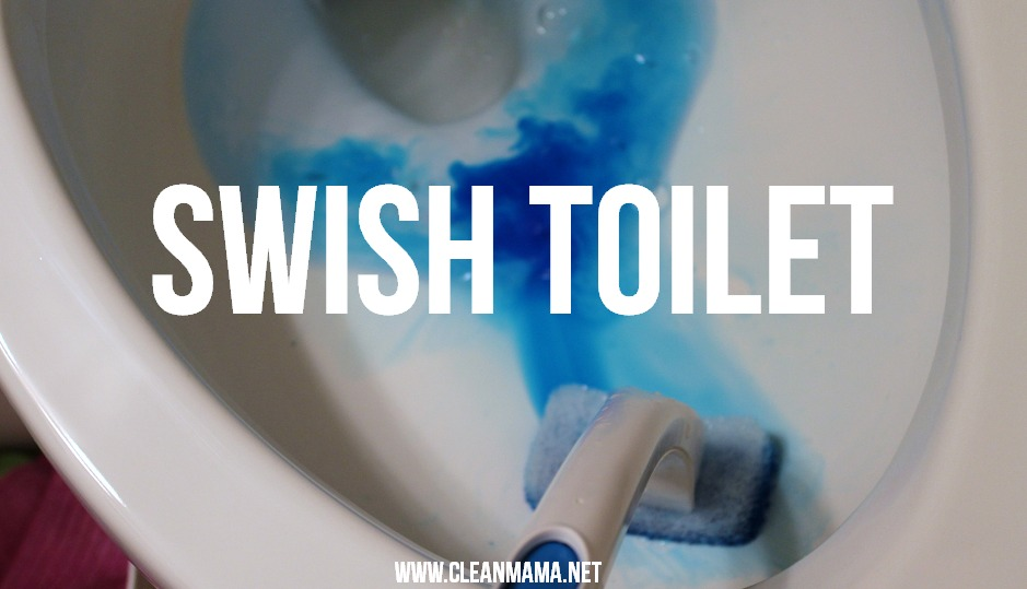 Step 3 Swish Toilet via Clean Mama