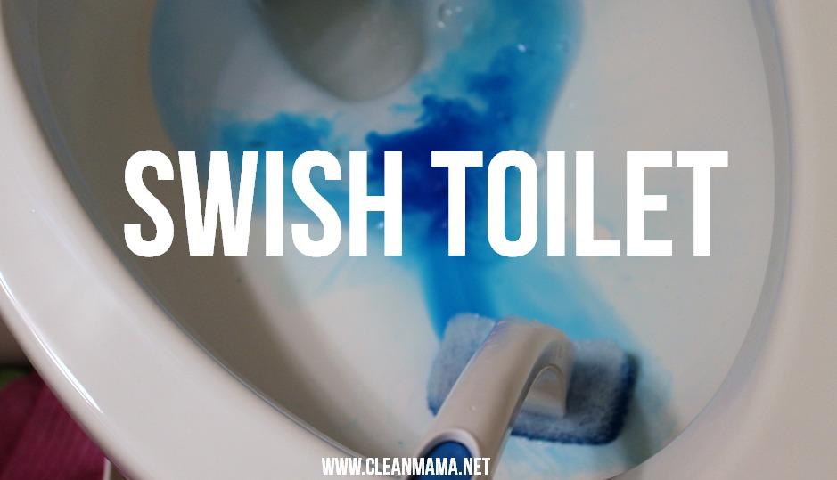 Step 3 Swish Toilet via Clean Mama