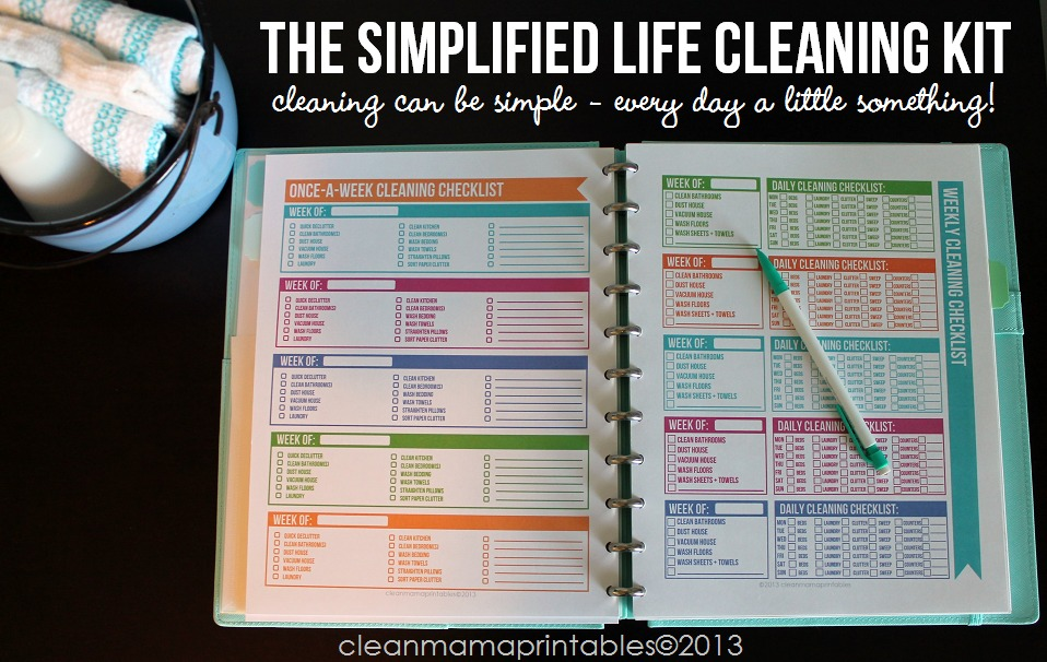 The Simplified Life Cleaning Kit - Cleaning Can Be Simple