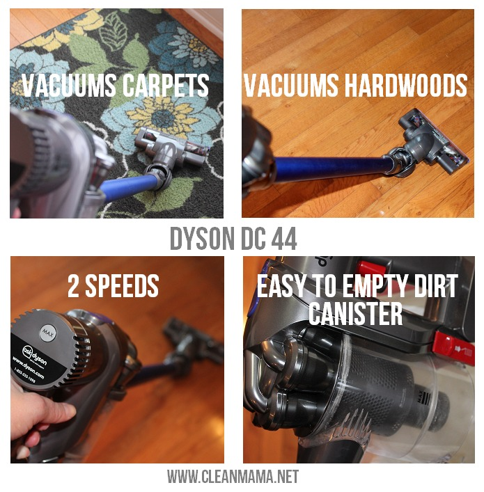 Dyson DC44 Review via Clean Mama