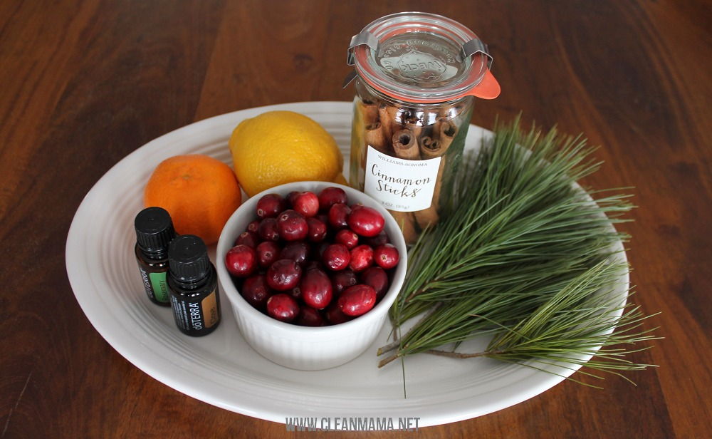 Ingredients for a Natural Air Freshener - Make a Simmer via Clean Mama
