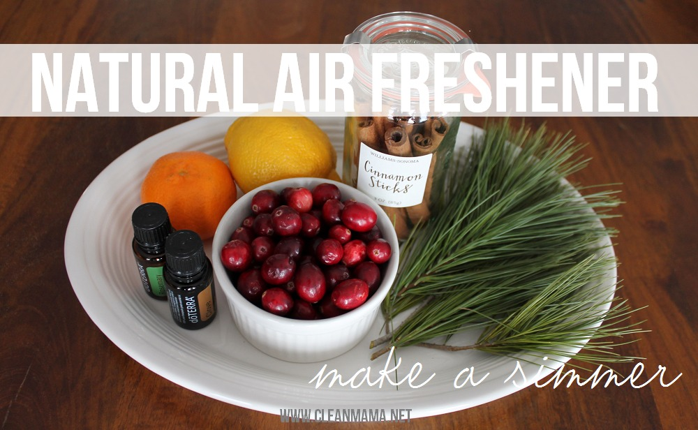 Natural Air Freshener - Make a Simmer via Clean Mama