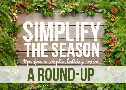Simplify the Season via Clean Mama (a round-up)