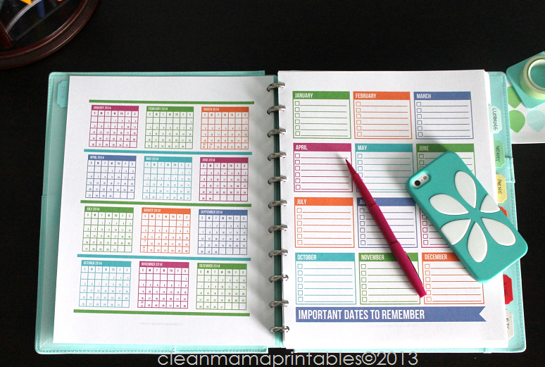 "Calendar Life Planner : Search results for "" printable color calendar"