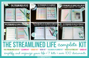 The Streamlined Life Complete Kit via Clean Mama Printables