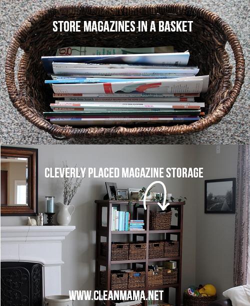 Magazine Storage via Clean Mama