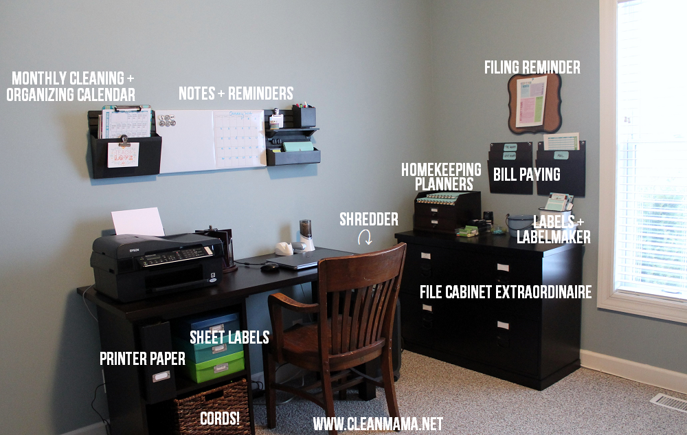 Paper-less Office Organization via Clean Mama