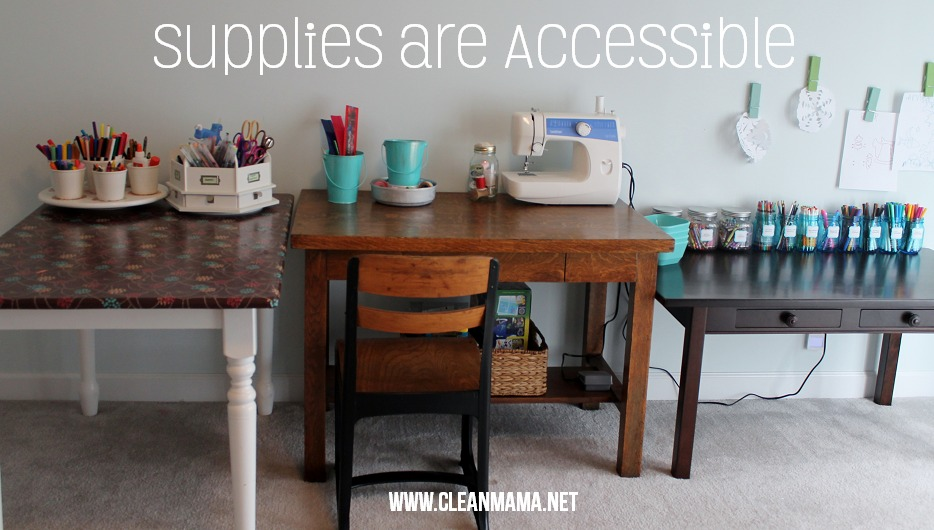 Supplies are accessible via Clean Mama
