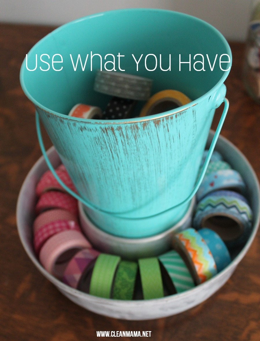 Use What You Have via Clean Mama