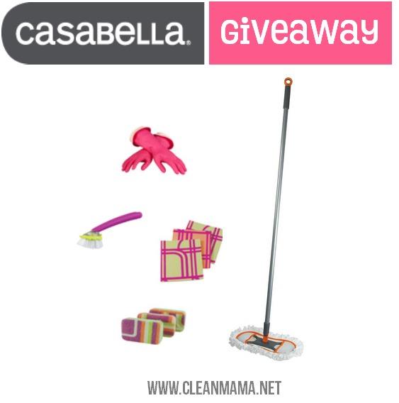 Casabella Giveaway via Clean Mama