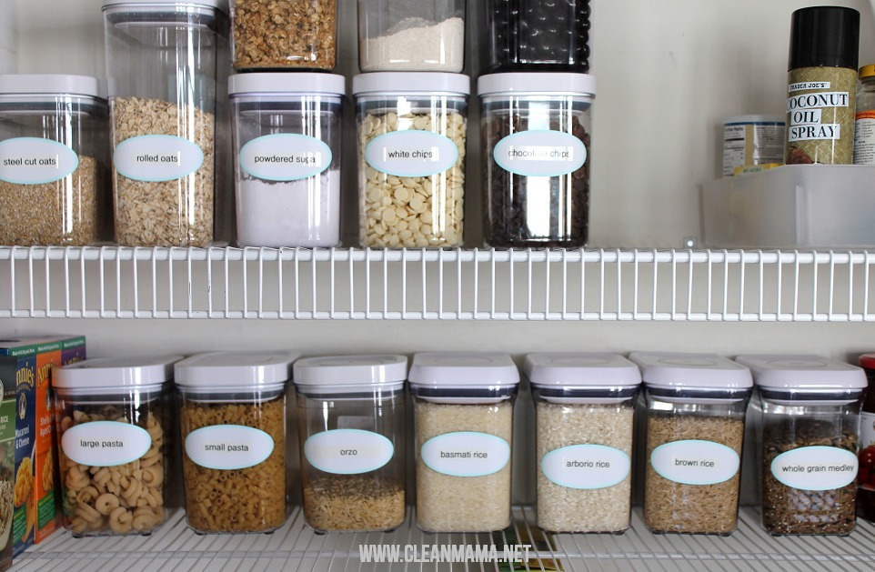 organized pantry Archives Clean Mama