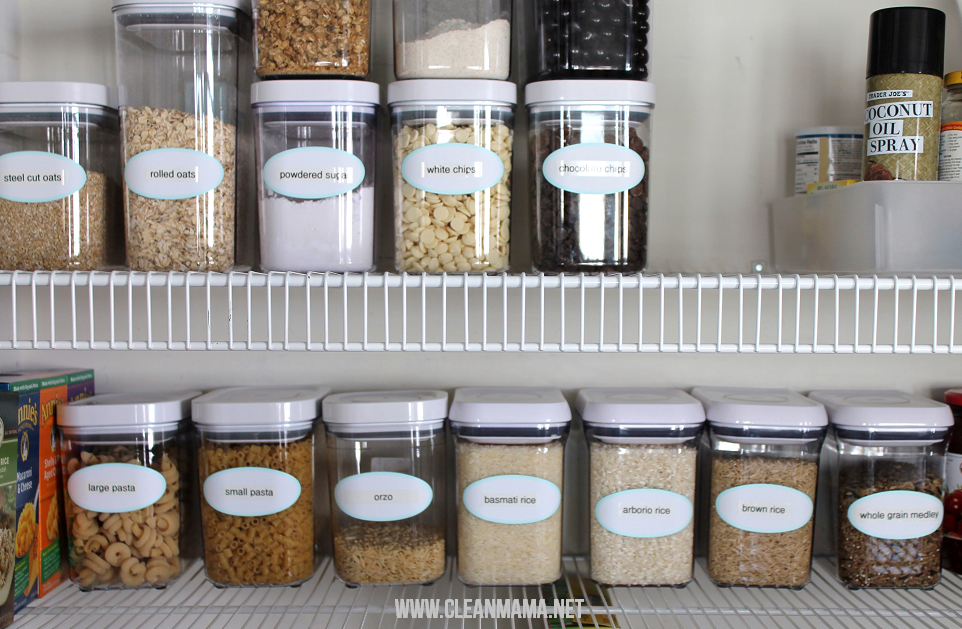 Glass Food Storage Containers Pantry