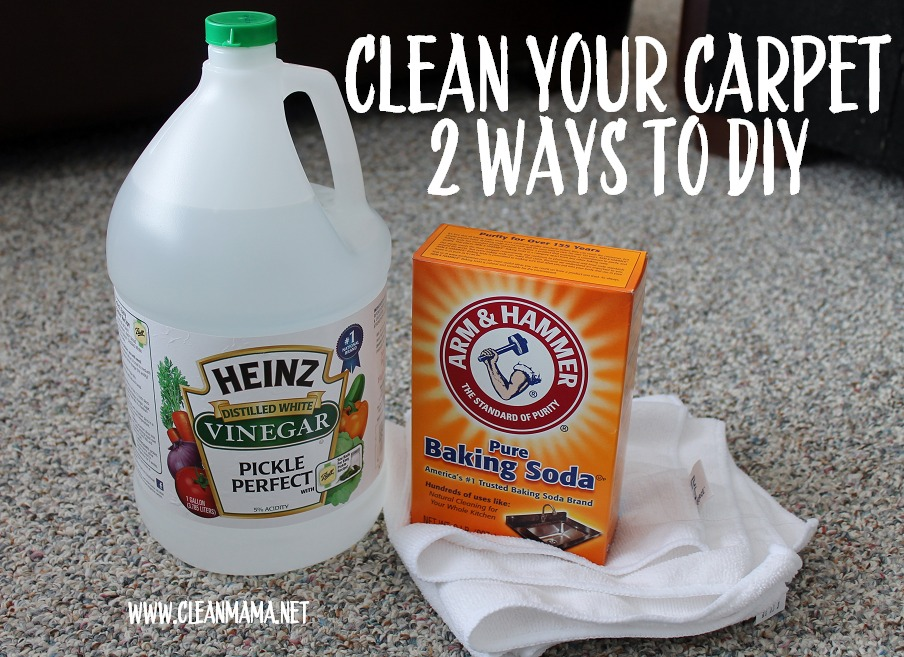 Spring Cleaning : Carpet Cleaning (2 Ways to DIY)