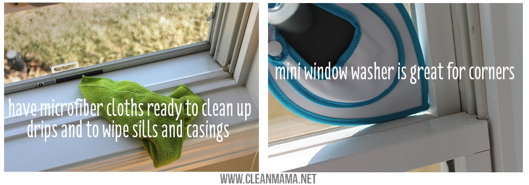 Don't Forget to Wash Your Window Sills and Casings via Clean Mama