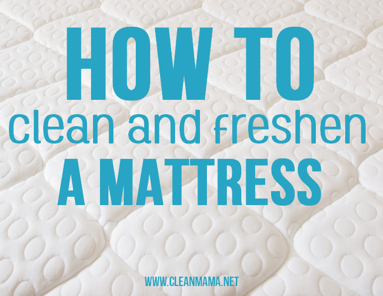 How to Clean and Freshen a Mattress