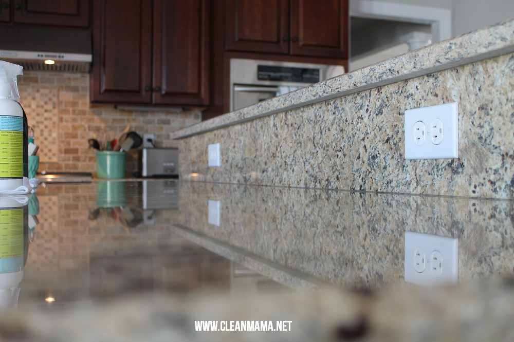Results of Granite Cleaners via Clean Mama