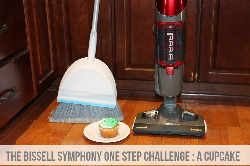 The BISSELL Symphony One Step Challenge - A Cupcake via Clean Mama