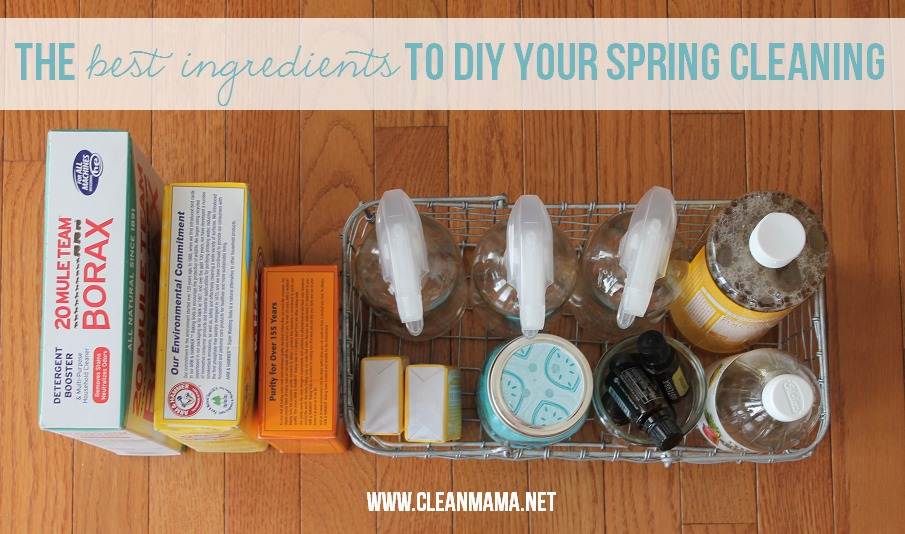 The Best Ingredients to DIY Your Spring Cleaning via Clean Mama