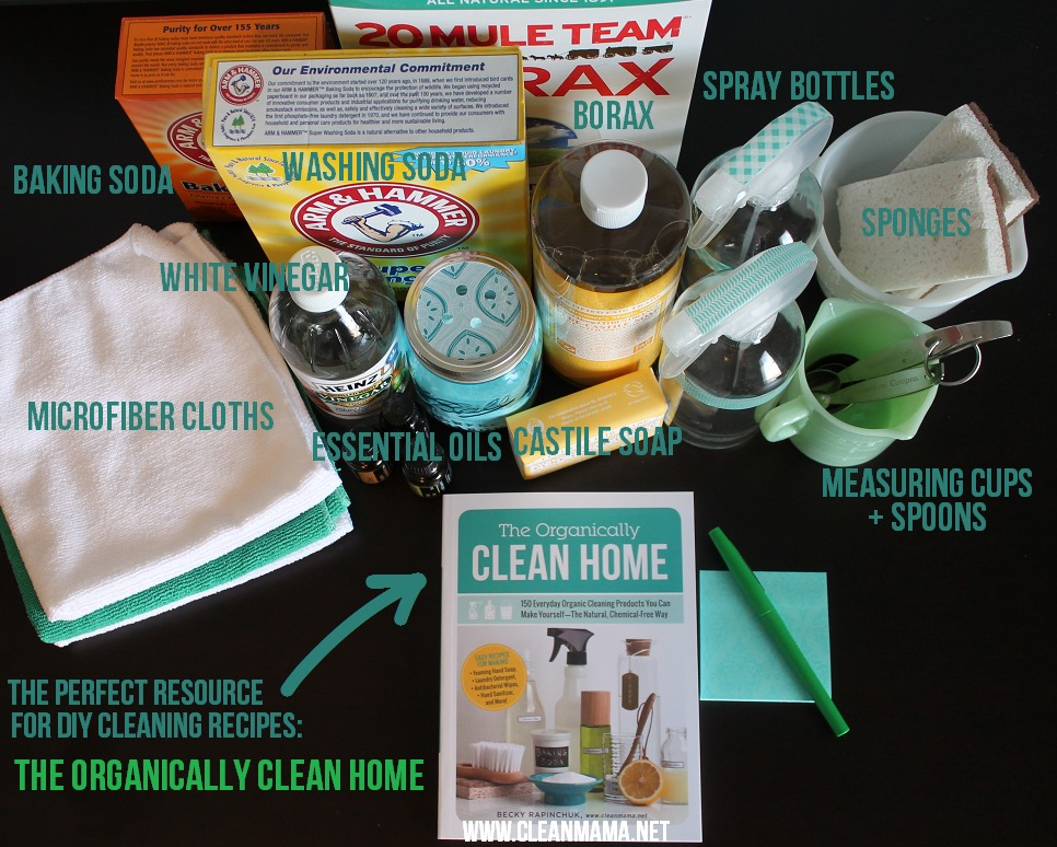 DIY Cleaning Resources via Clean Mama