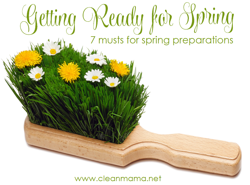 Getting Ready for Spring - 7 Musts for Spring Preparations via Clean Mama
