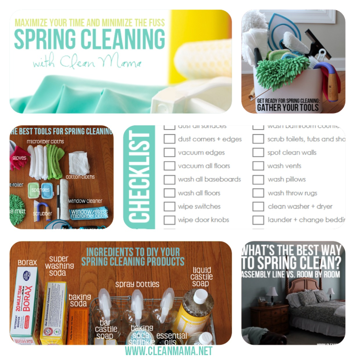 Maximize Your Time and Minimize the Fuss - Spring Cleaning With Clean Mama