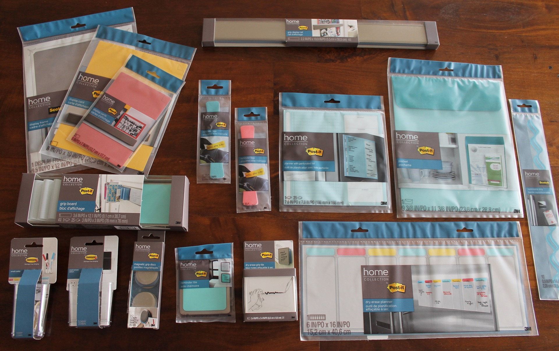 Post-It Home Collection via Clean Mama