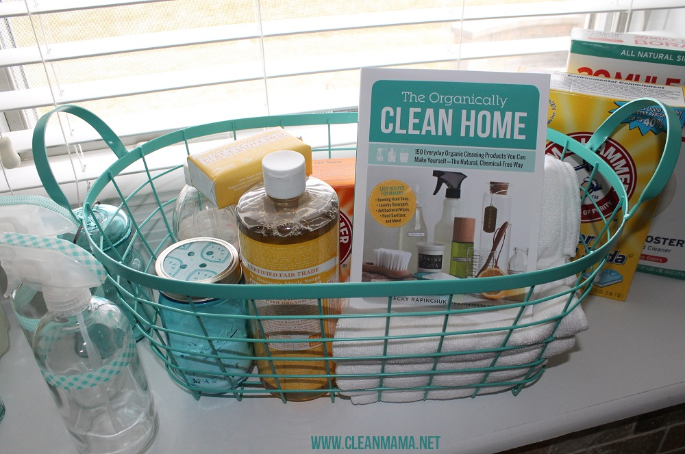 Put Together a DIY Cleaner Caddy via Clean Mama