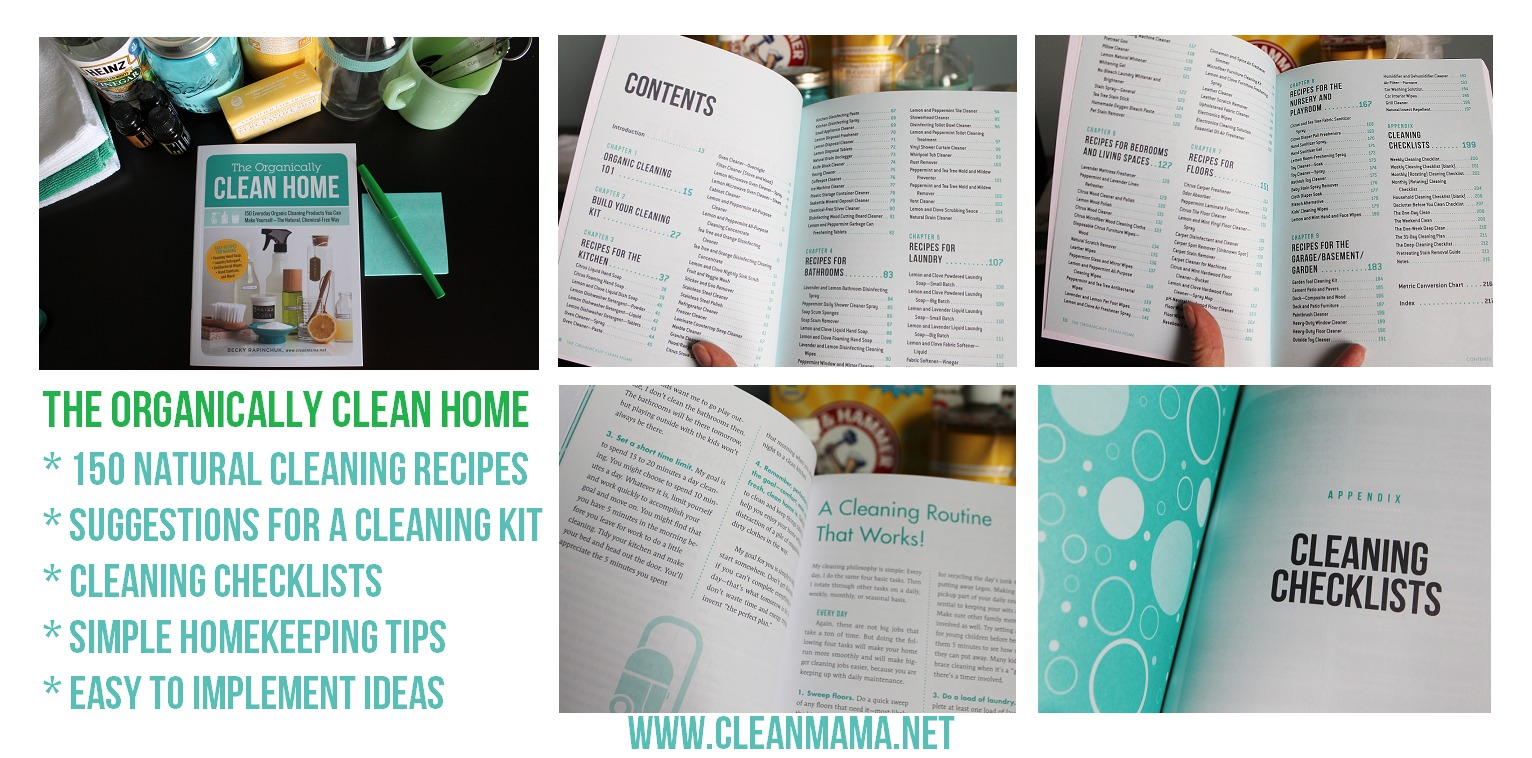The Organically Clean Home Details via Clean Mama